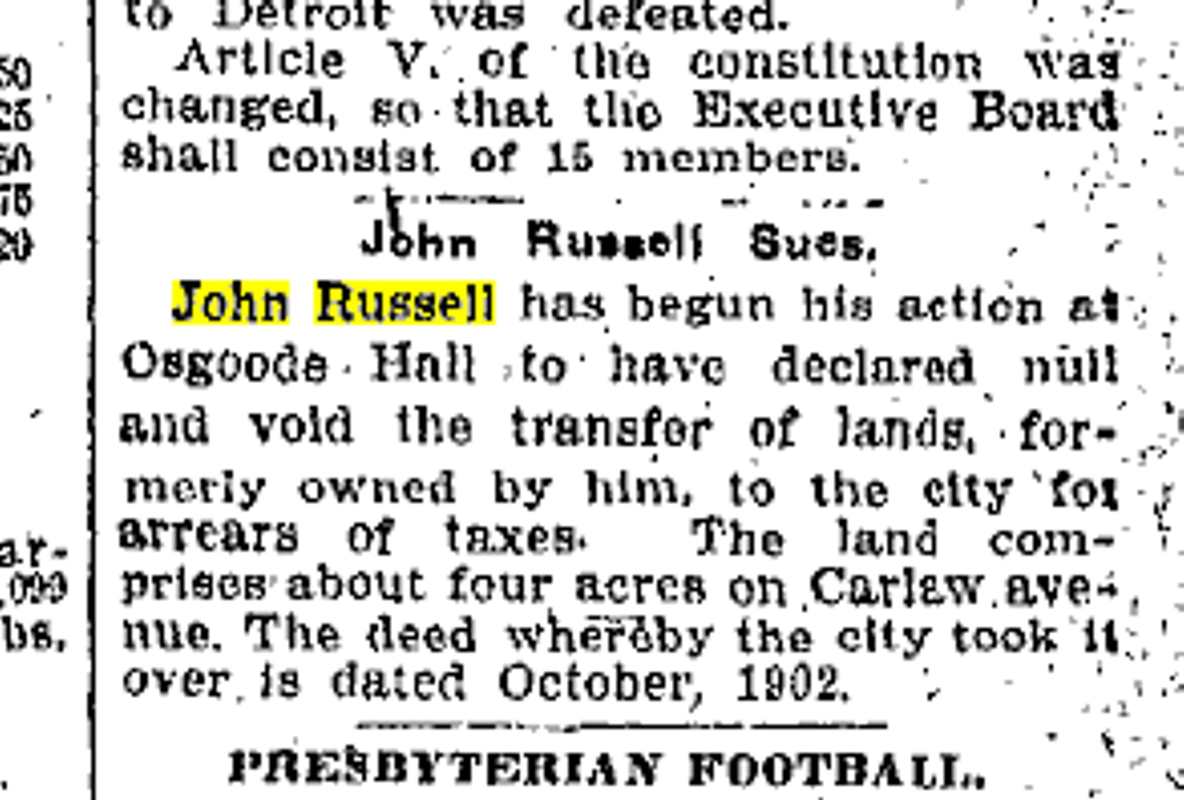 19060921 TS John Russell sues