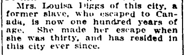 19180323 GL Louisa Diggs, Hamilton, Globe, March 23, 1918