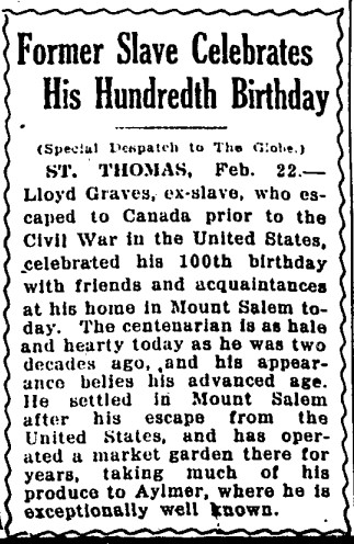 19240324 GL Lloyd Graves, St. Thomas, Globe, March 24, 1924