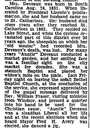19340626 GL Katherine Deveaux dies in fire, Globe, June 26, 1934 2