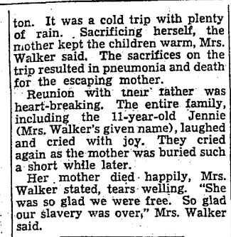 19381110 TS Remembering Slavery, Toronto Star, Nov. 10, 19385