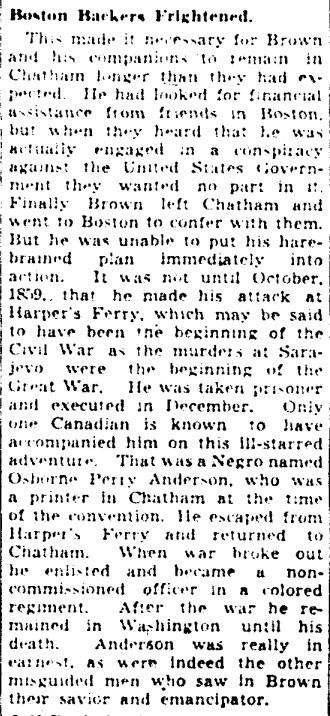19410402 GM John Brown plotted in Chatham, Jeff Davis in Toronto, Globe and Mail, April 2, 1941 4