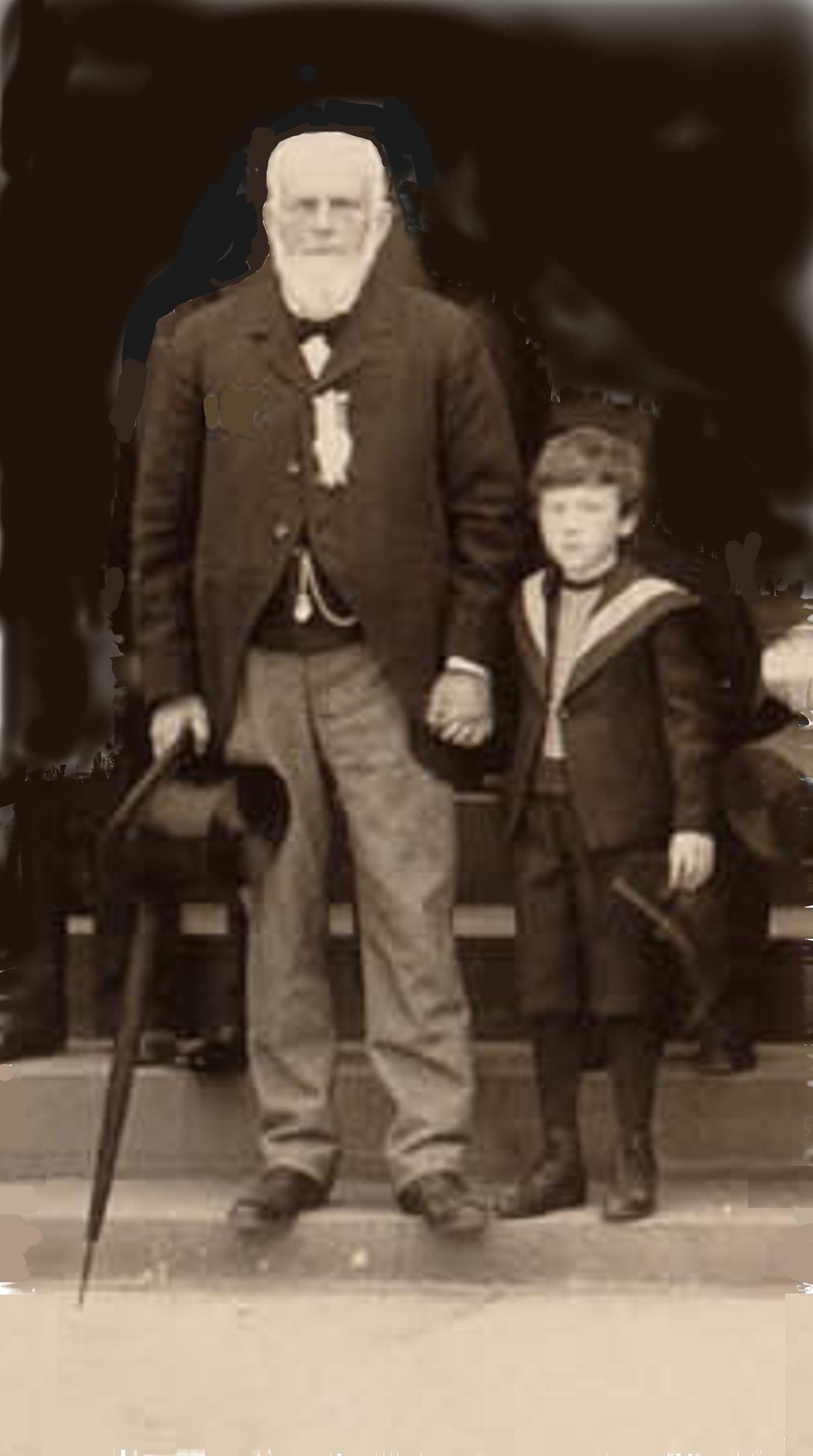Alderman John E Russell, 1899