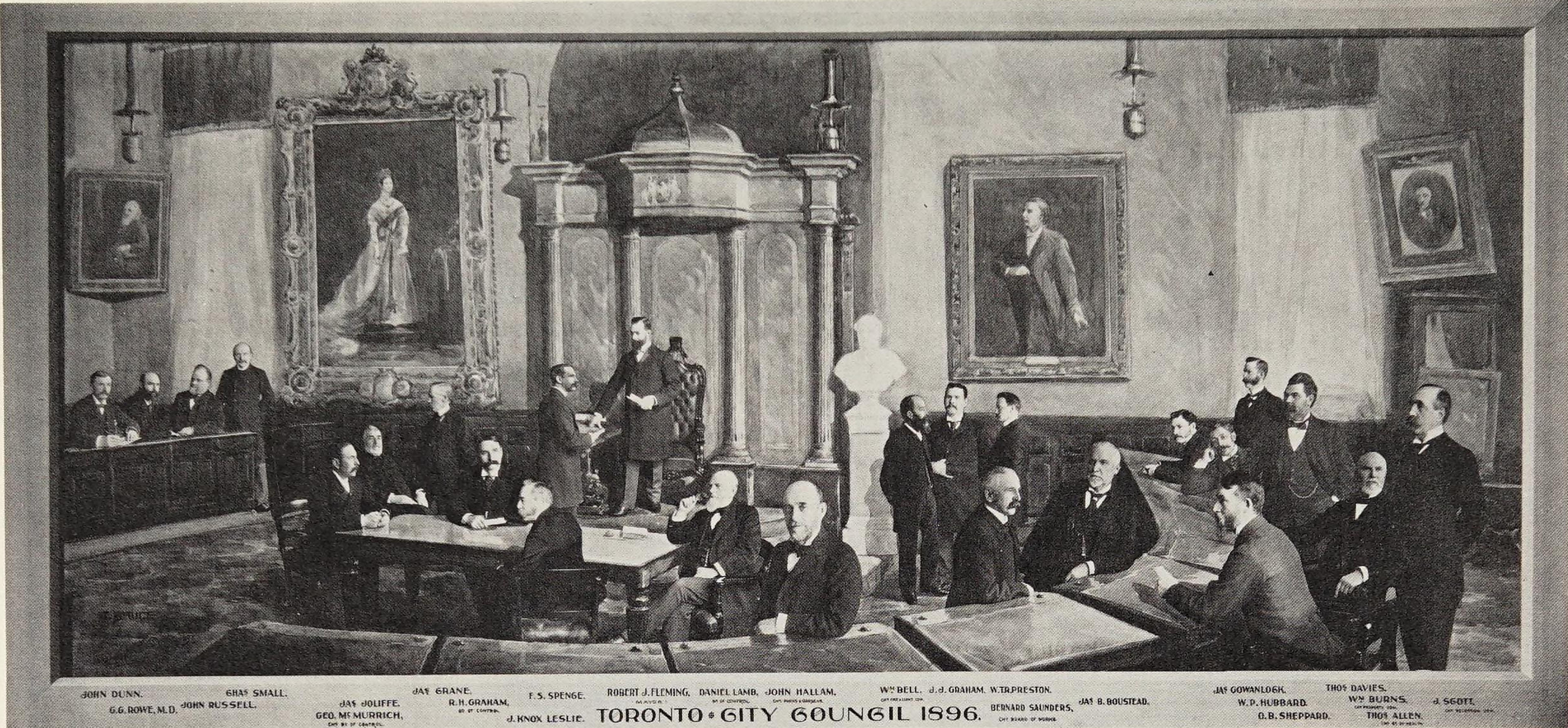 Toronto City Council 1896