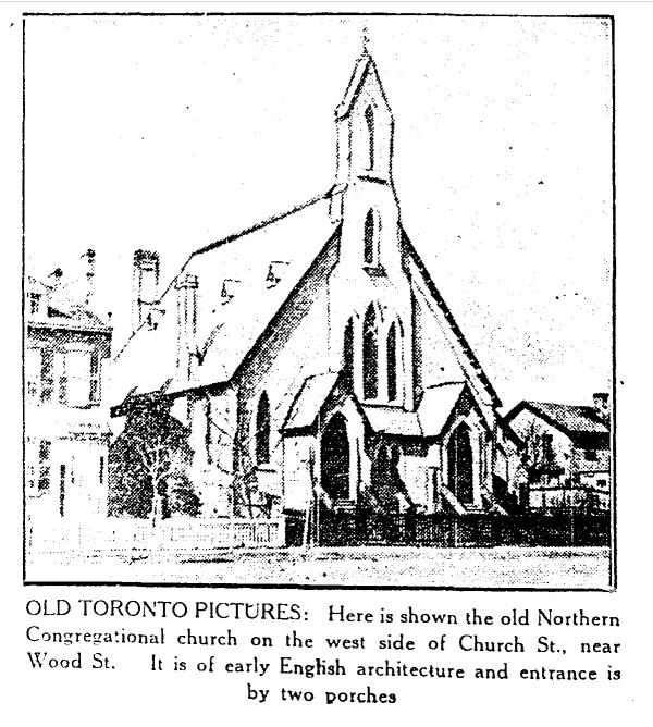 19300307 TS Northern Congregational Church Church & Woods