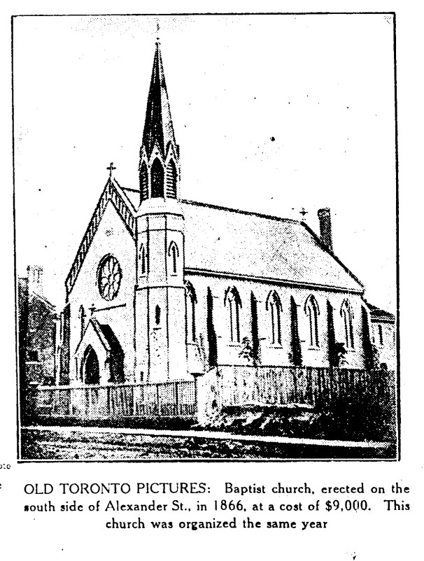 19300310 TS Baptist Church Adelaide Street