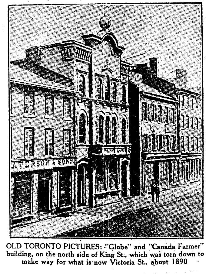 19300315 TS Globe & Canadian Farmer bldgs King Street