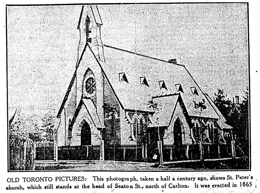 19300318 TS St. Peter's Church Seaton St n of Carleton