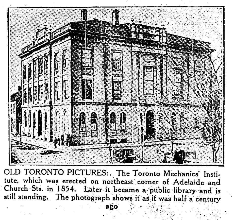 19300321 TS Mechanics Institute Church Street