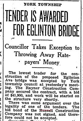 19300725 TS Russell loses bid for Eglinton bridge